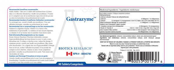 Gastrazyme - Label